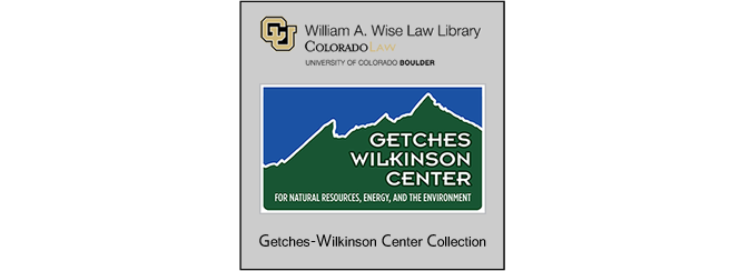 Getches-Wilkinson Center for Natural Resources, Energy, and the Environment
