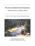 Water and Growth in Colorado: A Review of Legal and Policy Issues