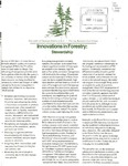 Innovations in Forestry: Stewardship