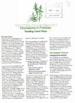 Innovations in Forestry: Funding Forest Plans
