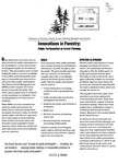 Innovations in Forestry: Public Participation in Forest Planning