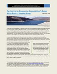 The First Step in Repairing the Colorado River's Broken Water Budget: Summary Report